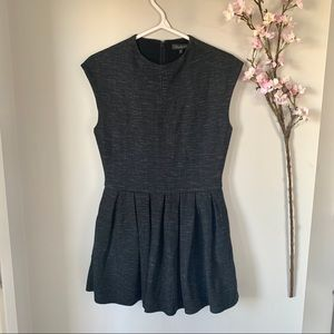 ARITZIA / TALULA / SHORT SLEEVE FIT & FLARE DRESS